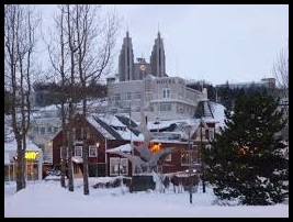 Akureyrie in the Winter