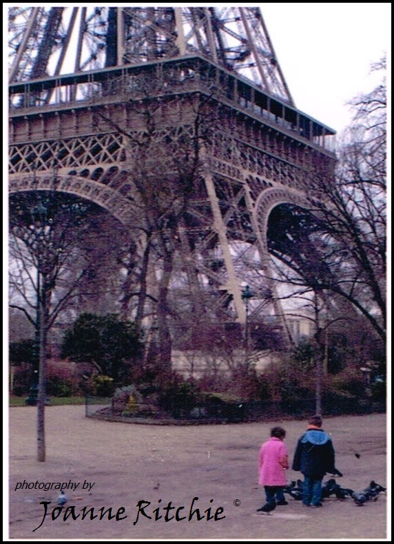 Eiffel Tower and Children
