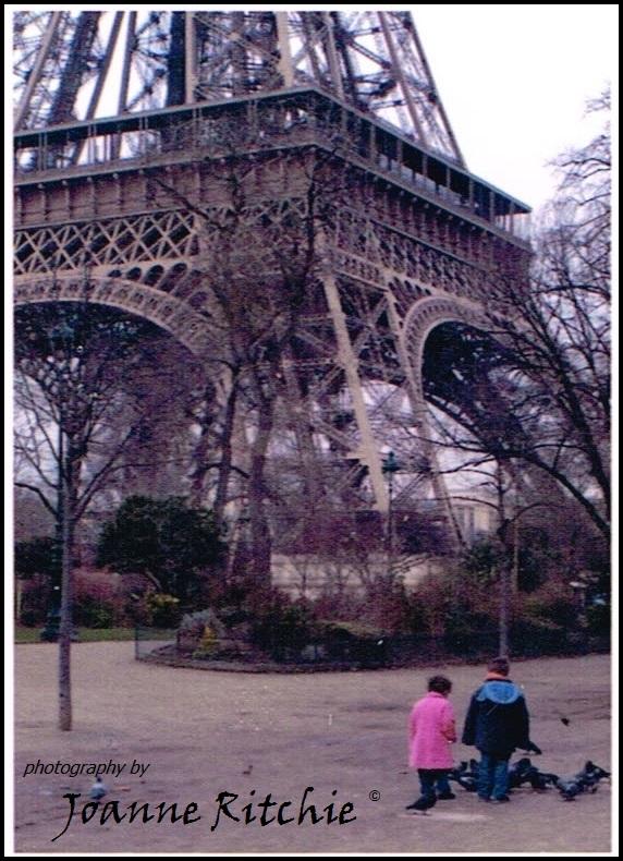 Eiffel Tower and Children
