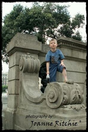 HLR climbing wherever he goes!
