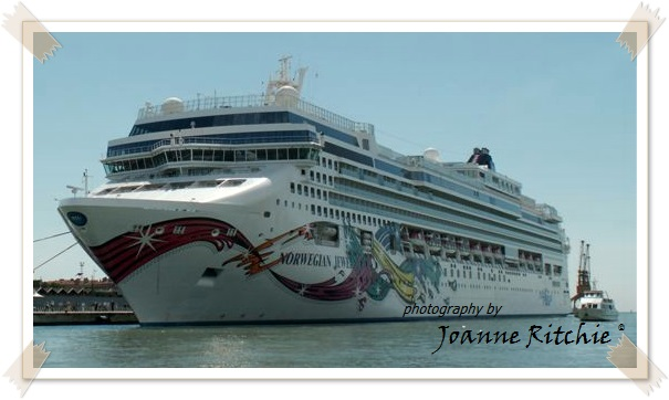 The Norwegian Jewel - our home away from home!