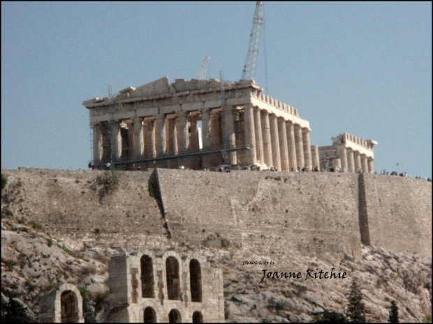 The Acropolis - forever a work in progress!