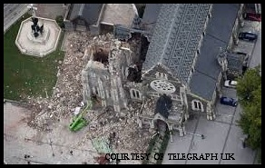 UK Telegraph of Christchurch Church