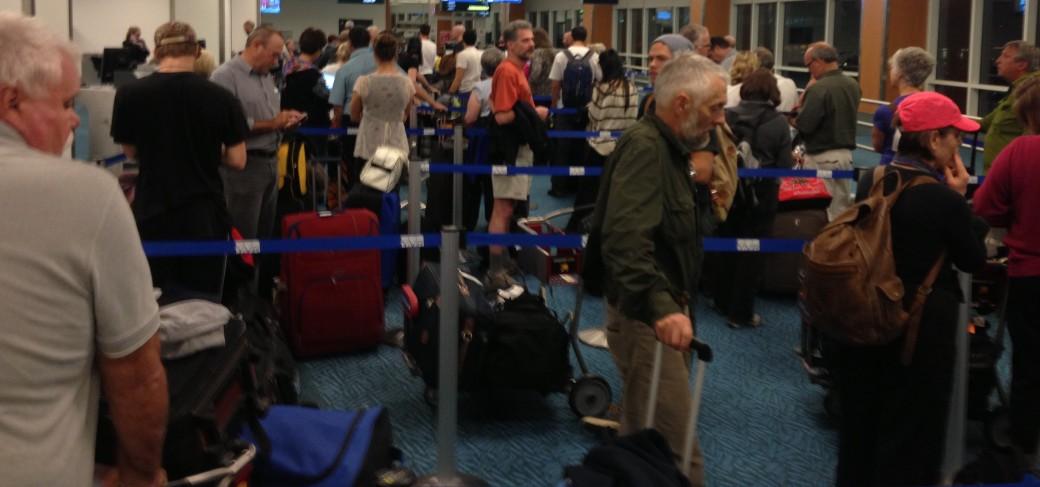 Cranky, uninformed passengers in Vancouver
