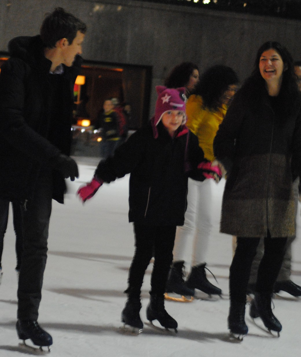 Fun times ice skating!