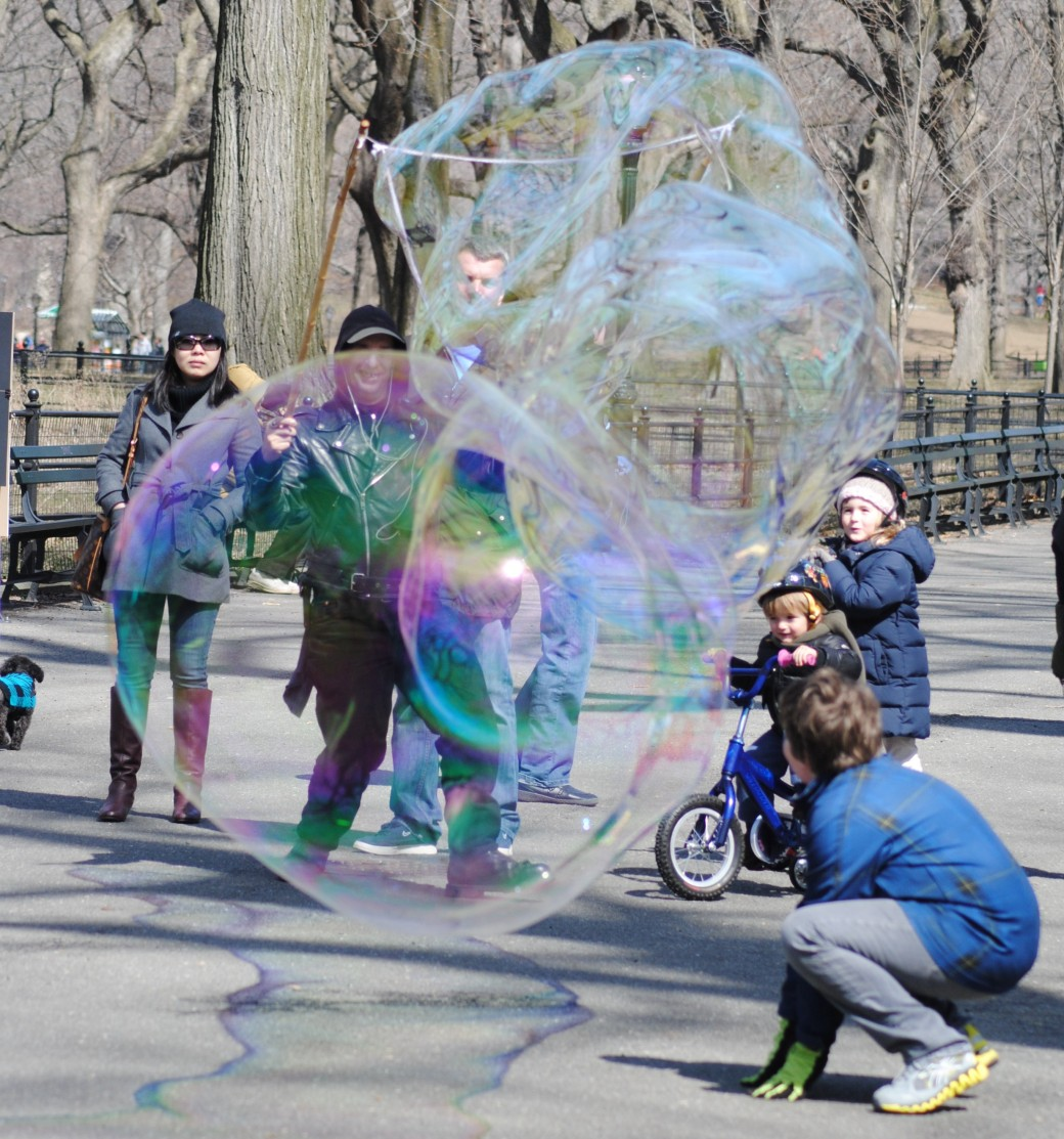 Pretty shiny little bubbles!