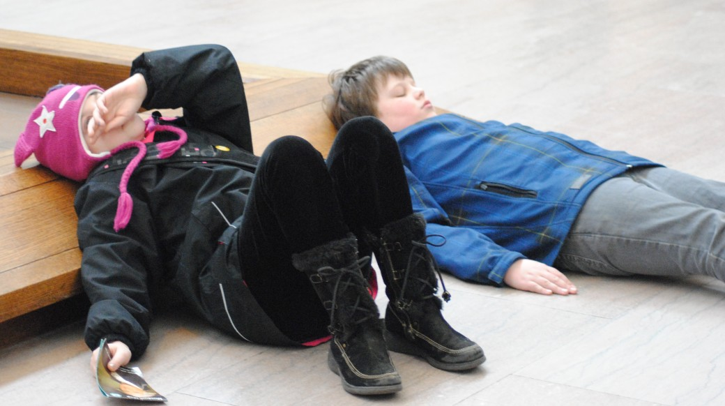 Trampled children at the MET!