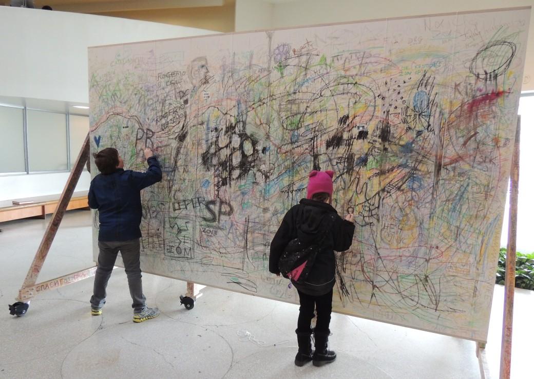 Kandinsky's in the making!