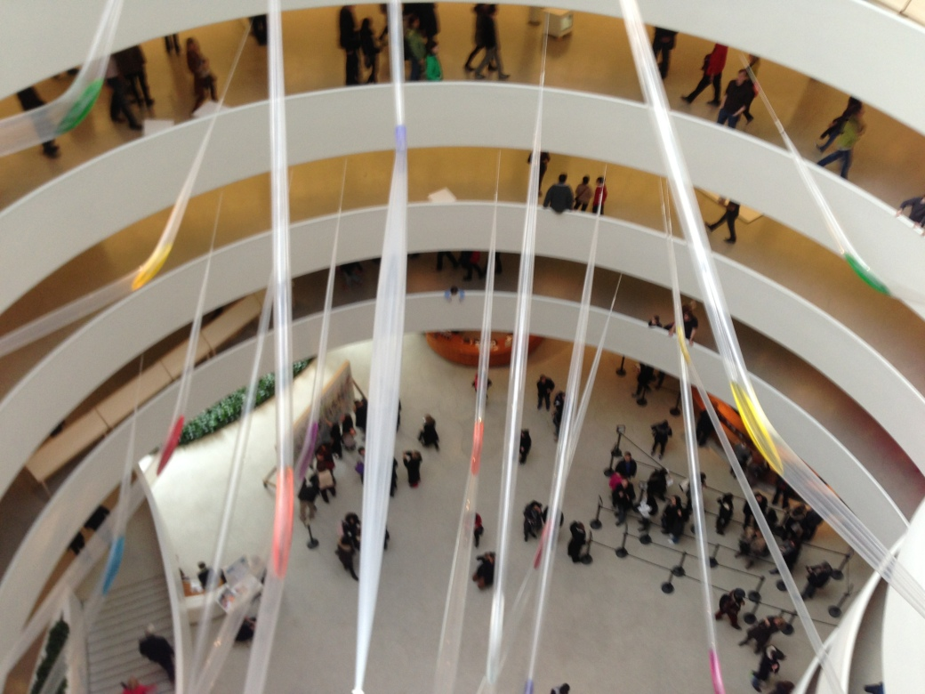 The famous Guggenheim!