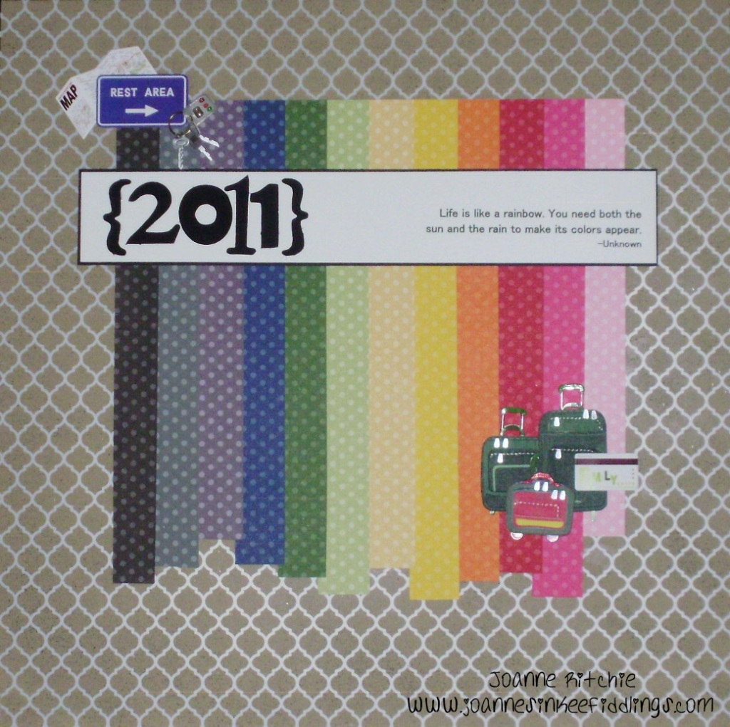 The front cover of the 2011 Albums!