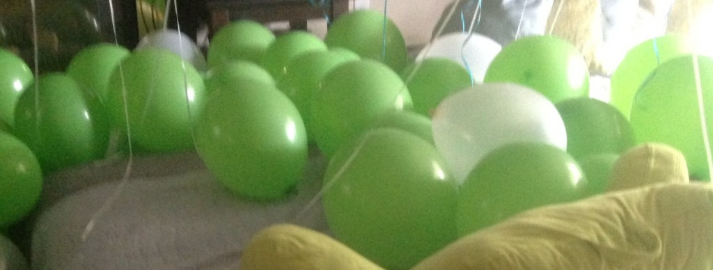 Honestly, one can never have too many balloons!