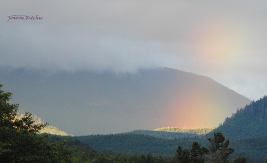 Rainbows in Kitimat Valley - Joanne Ritchie
