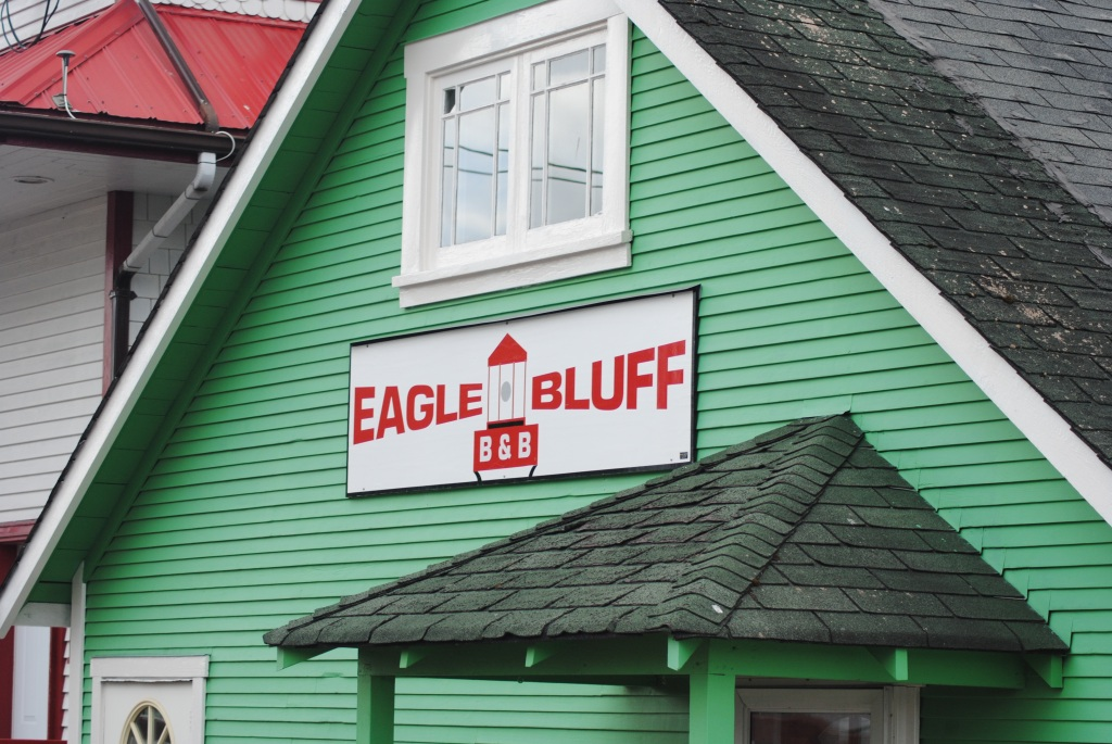 Eagle Bluff B&B - always a favorite of ours!