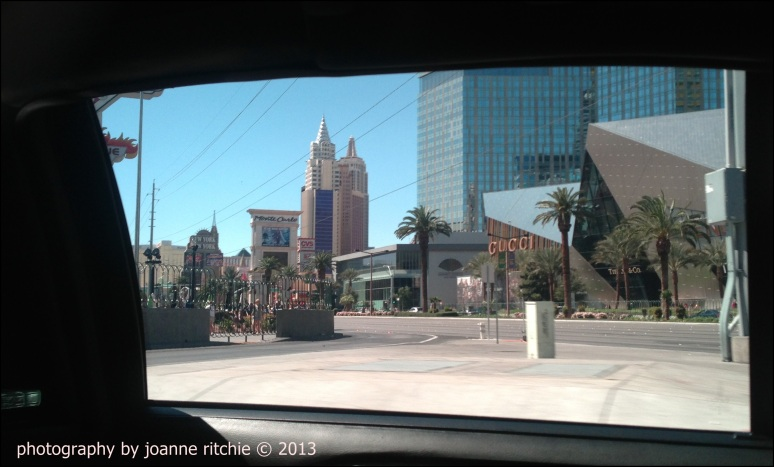 Vegas from the Limo