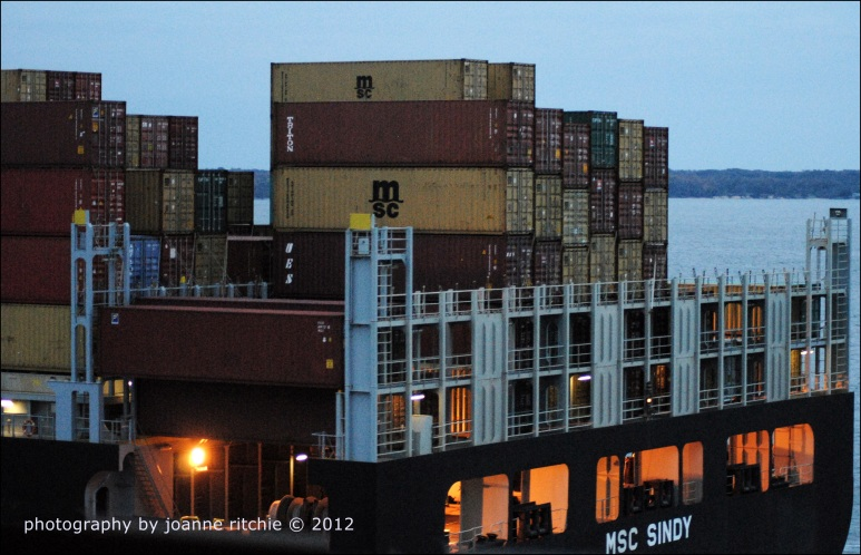 Baltimore Shipping containers