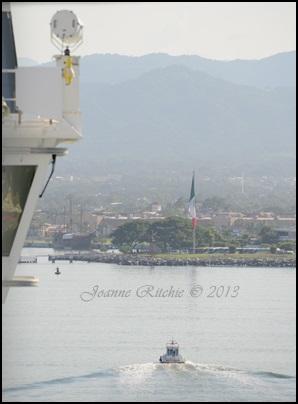 Coming into dock at Puerto Vallarto