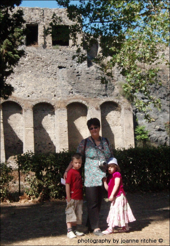 Outside Pompeii
