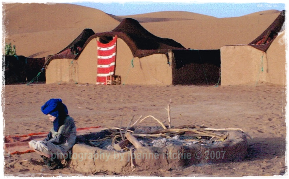 Master Five in Sahara Desert
