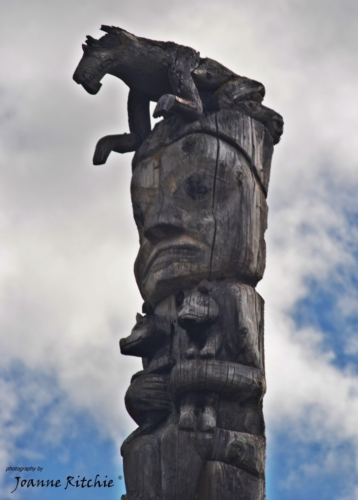 Totem Top - the craftmanship in these poles is awesome!