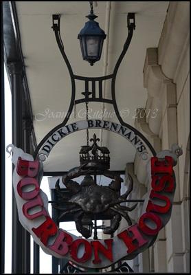 Bourbon House Sign