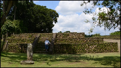 Donald and the Myan Ruins