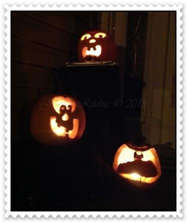 Halloween Pumpkins doing their thing!