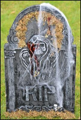 Halloween Tombstone...
