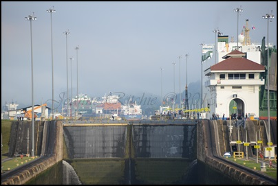 Panama Crossing Lock 1