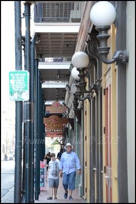 The boys on Bourbon Street