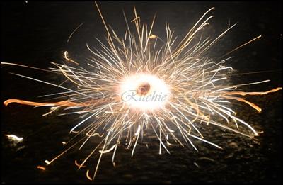 Halloween Fireworks!
