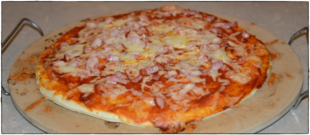 Hot & Spicy Ham and Cheese Pizza
