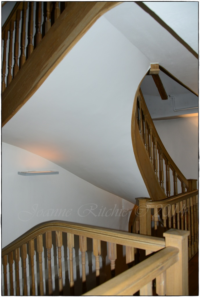 3 Sisters  with their beautifully curved Stairs