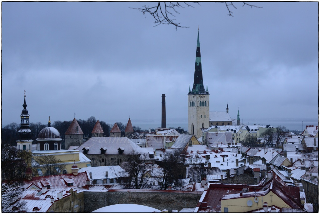 Looking over Estonia!