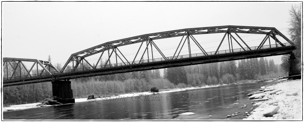 Fishing - Haisla Bridge!