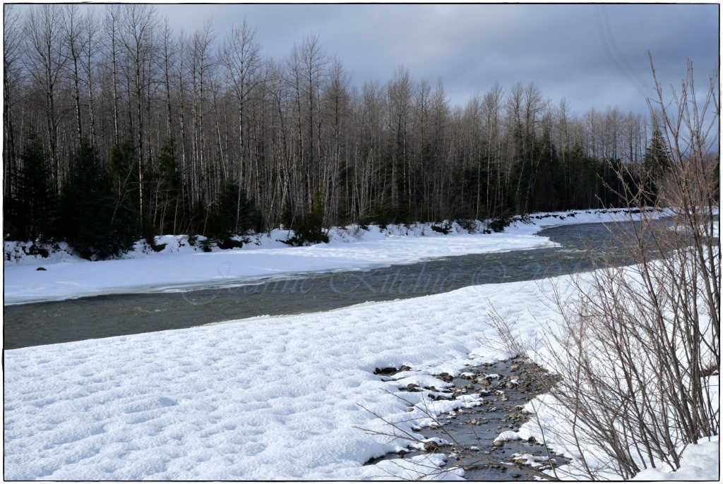 Thawing Rivers Running - Mother Nature at her finest!