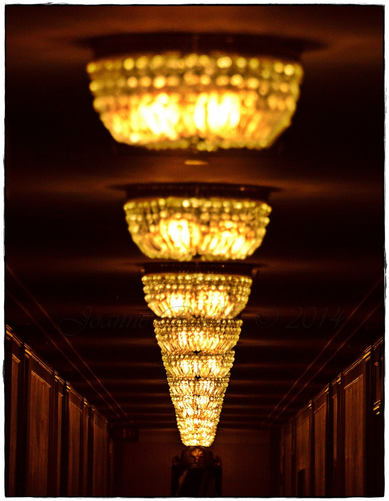 Hallway Lights in Vanouver - just beautiful!