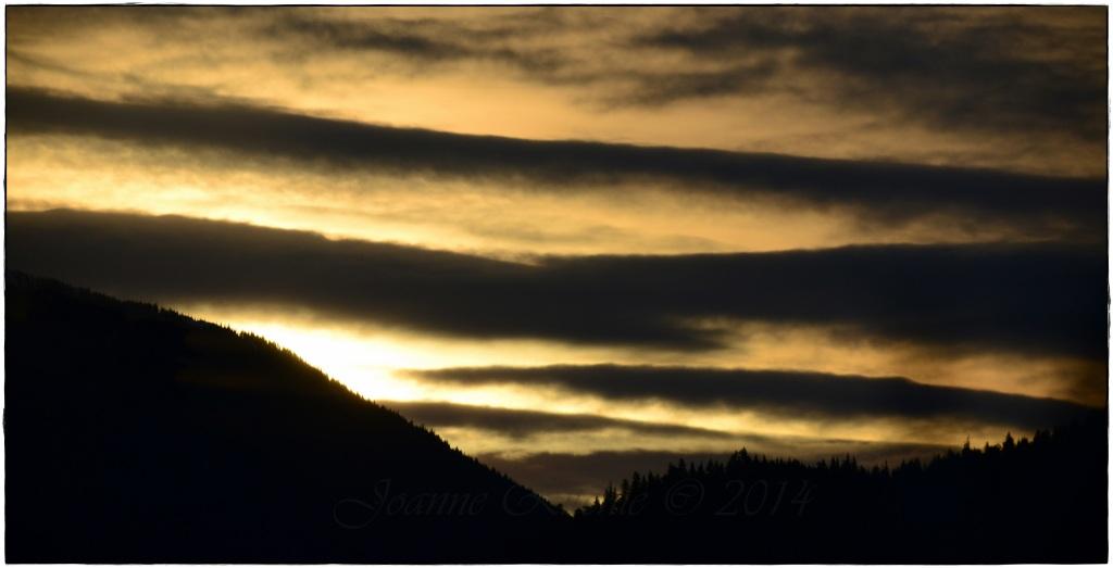 Zebra Stripes in the Sky