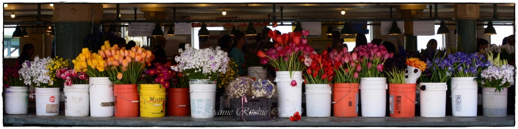 Fresh Flowers at Pike Place - AMAZING!!!