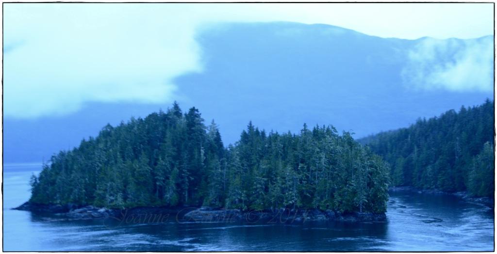Inner Passage Island - so close yet so far!