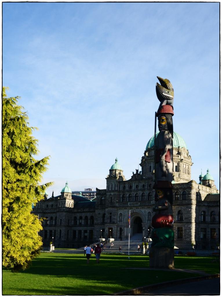 Parliment House Totem Pole