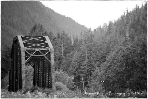 Old Bridge on the way to Prince Rupert!
