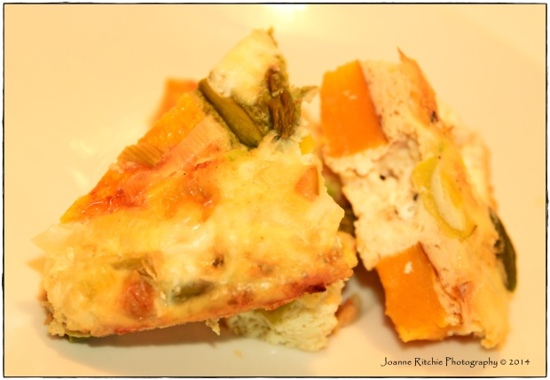 Pumpkin Asparagus Frittata