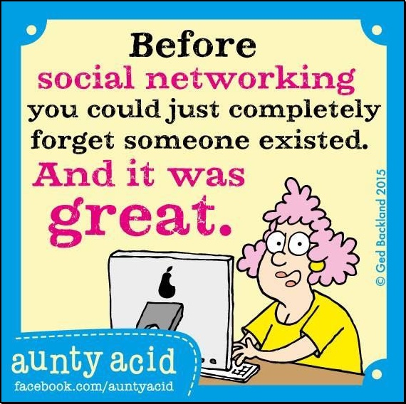 Social Networking - the old fashioned way!